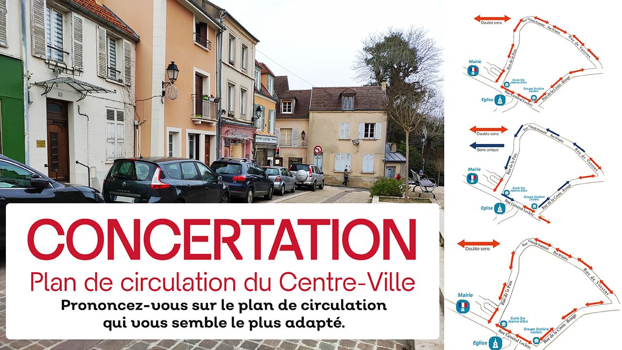 Concertation : Plan de Circulation du Centre-Ville