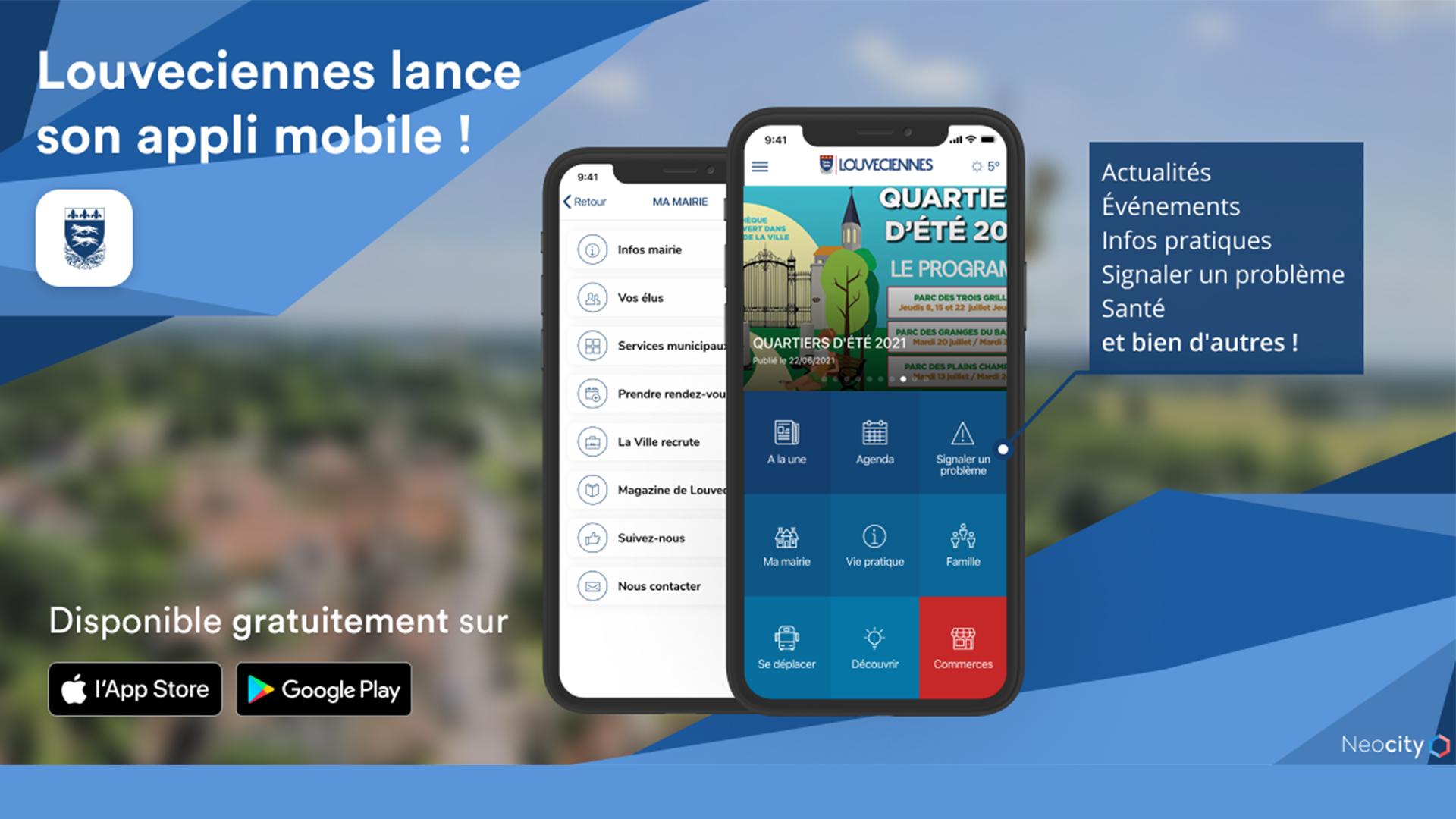 Application mobile Louv'Smart